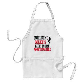 cool body build design adult apron