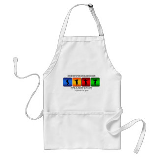 Cool Bodybuilding It Is A Way Of Life Adult Apron
