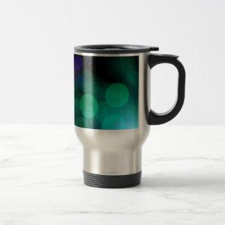 Cool Bokeh photographic colourful effect Travel Mug