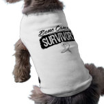 Cool Bone Cancer Survivor Dog Tshirt