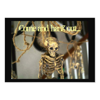 Cool bones, skeleton invitation