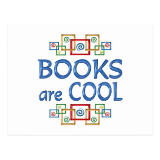 Cool Books Postcards