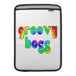 Cool Bosses Office Christmas Parties : Groovy Boss MacBook Air Sleeve