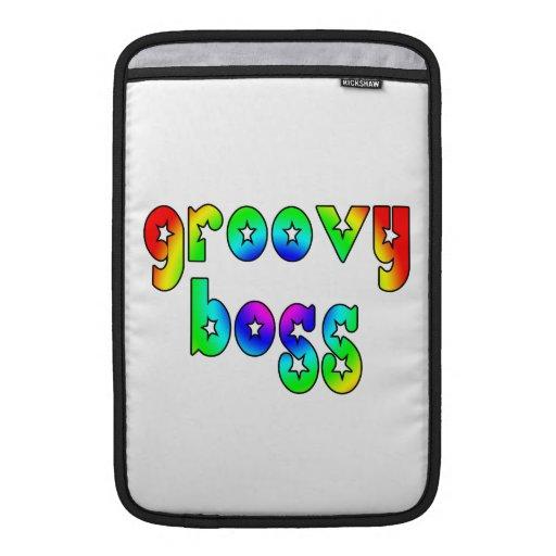 Cool Bosses Office Christmas Parties : Groovy Boss MacBook Sleeve