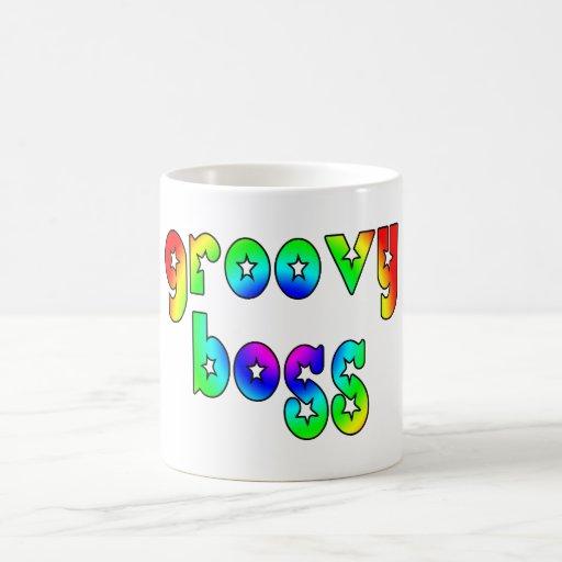Cool Bosses Office Christmas Parties : Groovy Boss Mug