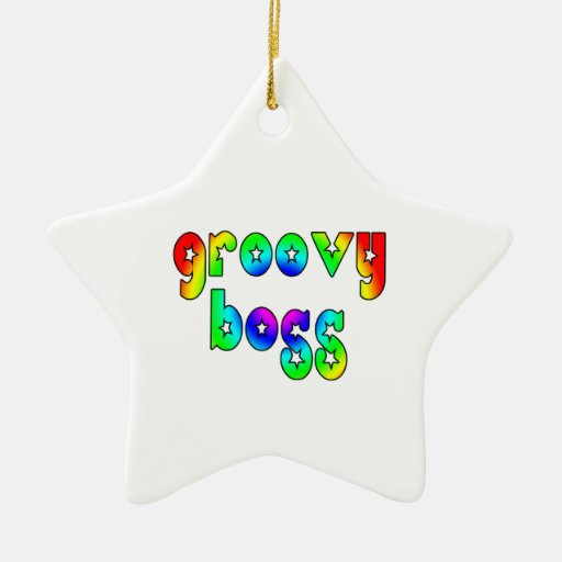 Cool Bosses Office Christmas Parties : Groovy Boss Ornaments