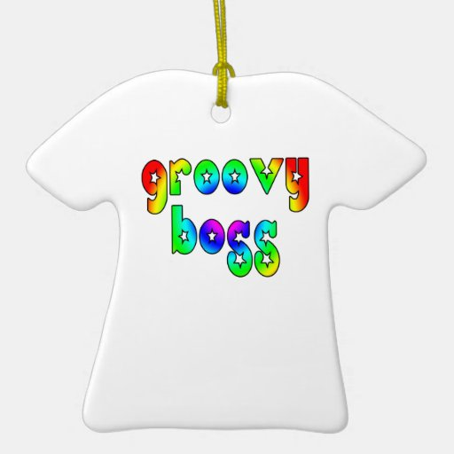 Cool Bosses Office Christmas Parties : Groovy Boss Christmas Ornaments