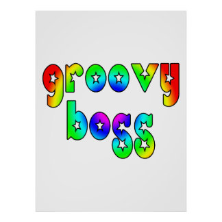 Cool Bosses Office Christmas Parties : Groovy Boss Print