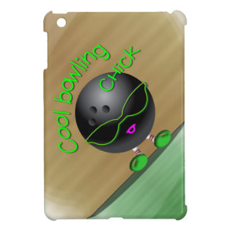 Cool Bowling Chick Case For The iPad Mini