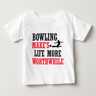 cool bowling design baby T-Shirt