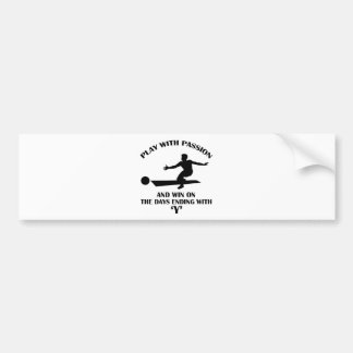 cool bowling design bumper sticker