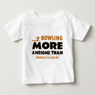Cool Bowling designs Baby T-Shirt