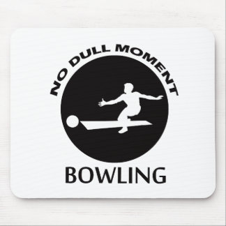 Cool bowling designs mouse pad