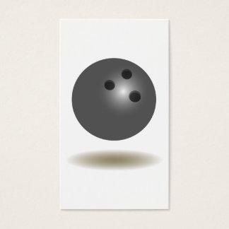 Cool Bowling Emblem Business Card