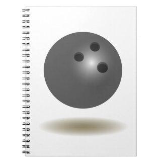 Cool Bowling Emblem Notebook