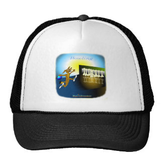 Cool Bowling gifts for kids Trucker Hat