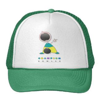Cool Bowling Trucker Hat