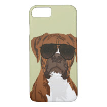 Cool Boxer Dog for Dog Lovers Phone Case