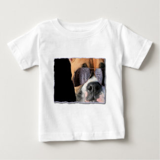 Cool boxer in sunglasses toddler shirt
