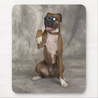 Cool Boxer Mouse Pad