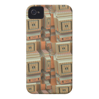 Cool Boxes, abstract iPhone 4 Case-Mate Case