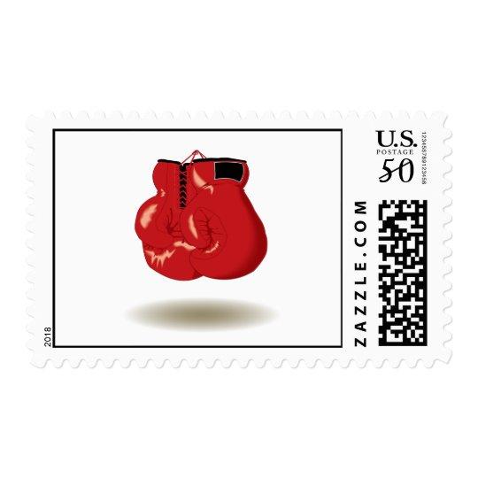 Cool Boxing Emblem Postage