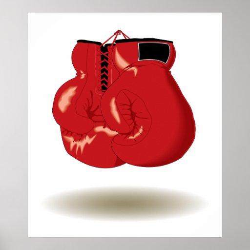 Cool Boxing Emblem Posters