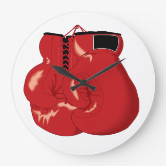 Cool Boxing Gloves Clock