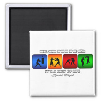 Cool Boxing It Is A Way Of Life Magnet