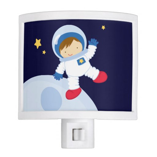 Cool Boy Astronaut Night Light