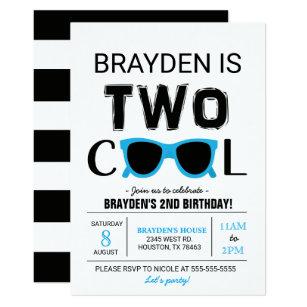 Cool birthday invitations zazzle cool boy birthday invitation filmwisefo