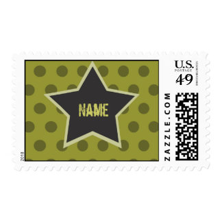 Cool Boy Customizable Camp postage