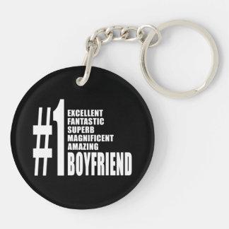 Cool Boyfriends : Number One Boyfriend Keychain