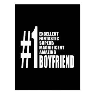 Cool Boyfriends : Number One Boyfriend Postcard