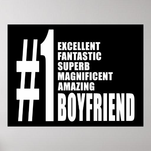 Cool Boyfriends : Number One Boyfriend Print