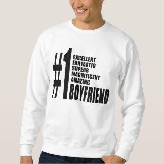 Cool Boyfriends : Number One Boyfriend Sweatshirt