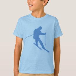 cool boys ski tshirt