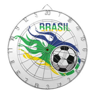 Cool Brasil Futebol Dart Boards