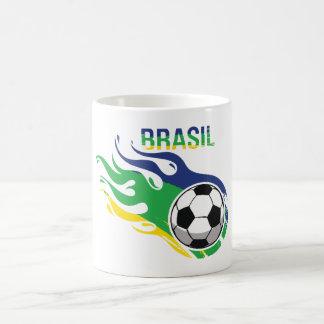 Cool Brasil Futebol Mug