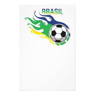 Cool Brasil Futebol Stationery