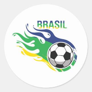 Cool Brasil Futebol Stickers