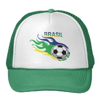Cool Brasil Futebol Trucker Hat