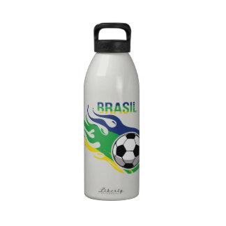 Cool Brasil Futebol Water Bottle