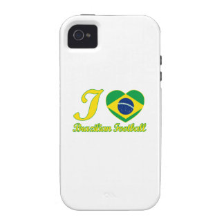 cool Brazilian Football fan DESIGNS Case-Mate iPhone 4 Case