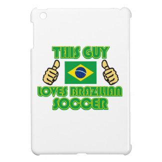 cool Brazilian soccer  DESIGNS iPad Mini Case