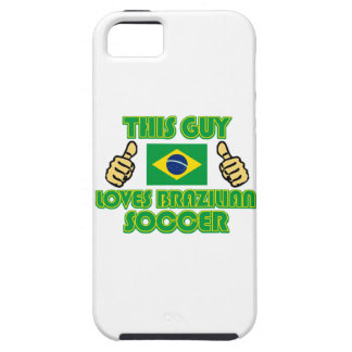 cool Brazilian soccer  DESIGNS iPhone SE/5/5s Case