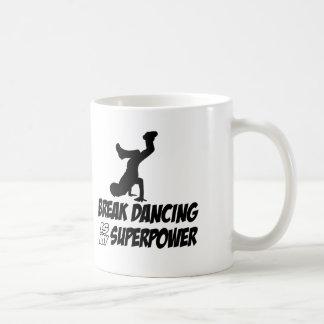 Cool breakdancing designs coffee mug