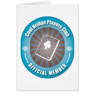 Cool Bridge Players Club Card