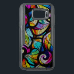 "Cool Bright Color Abstract Swirls OtterBox Samsung Note 5 Case<br><div class=""desc"">Cool bright colors abstract swirls pattern,  abstract stained glass design</div>"