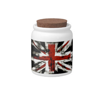 cool British flag Candy Dishes